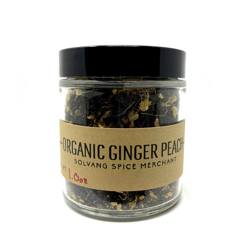 Ginger Peach Organic Tea