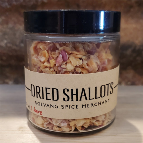 1/2 cup jar of dried shallots