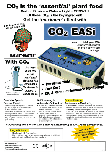 HARVEST MASTER CO2 EASI