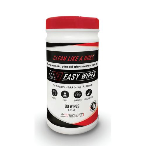 Avert Easy Wipes - 80 Pack