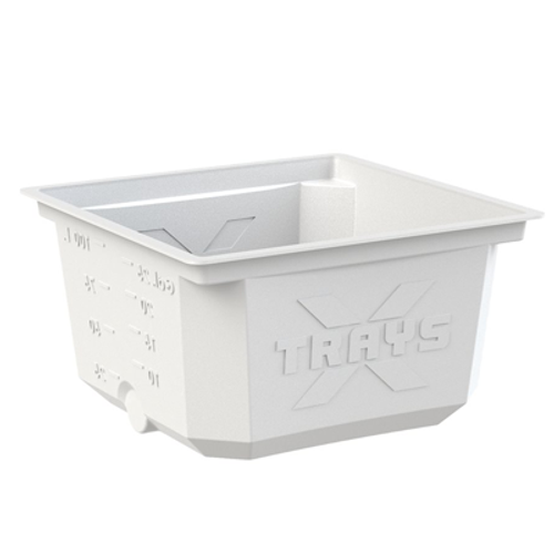 X-TRAYS Reservoir + Lid 95L (25GAL) White