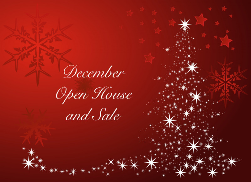 Holiday Open House & Sale
