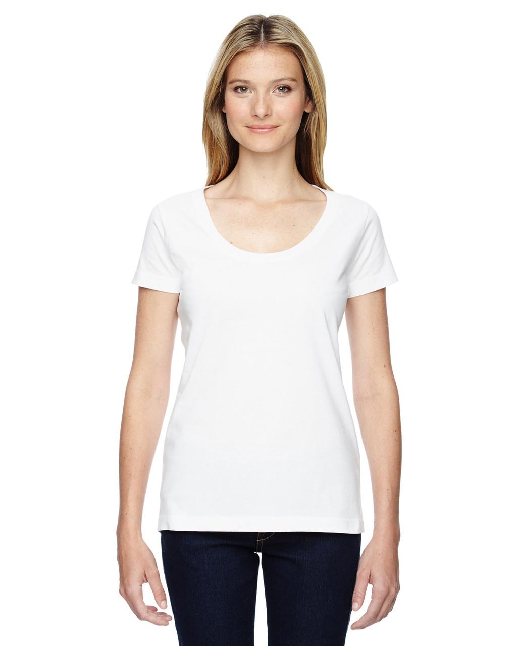 0d6fa8081cfe LAT 3504 Ladies'' Scoop Neck T-Shirt - ClothingAuthority.com