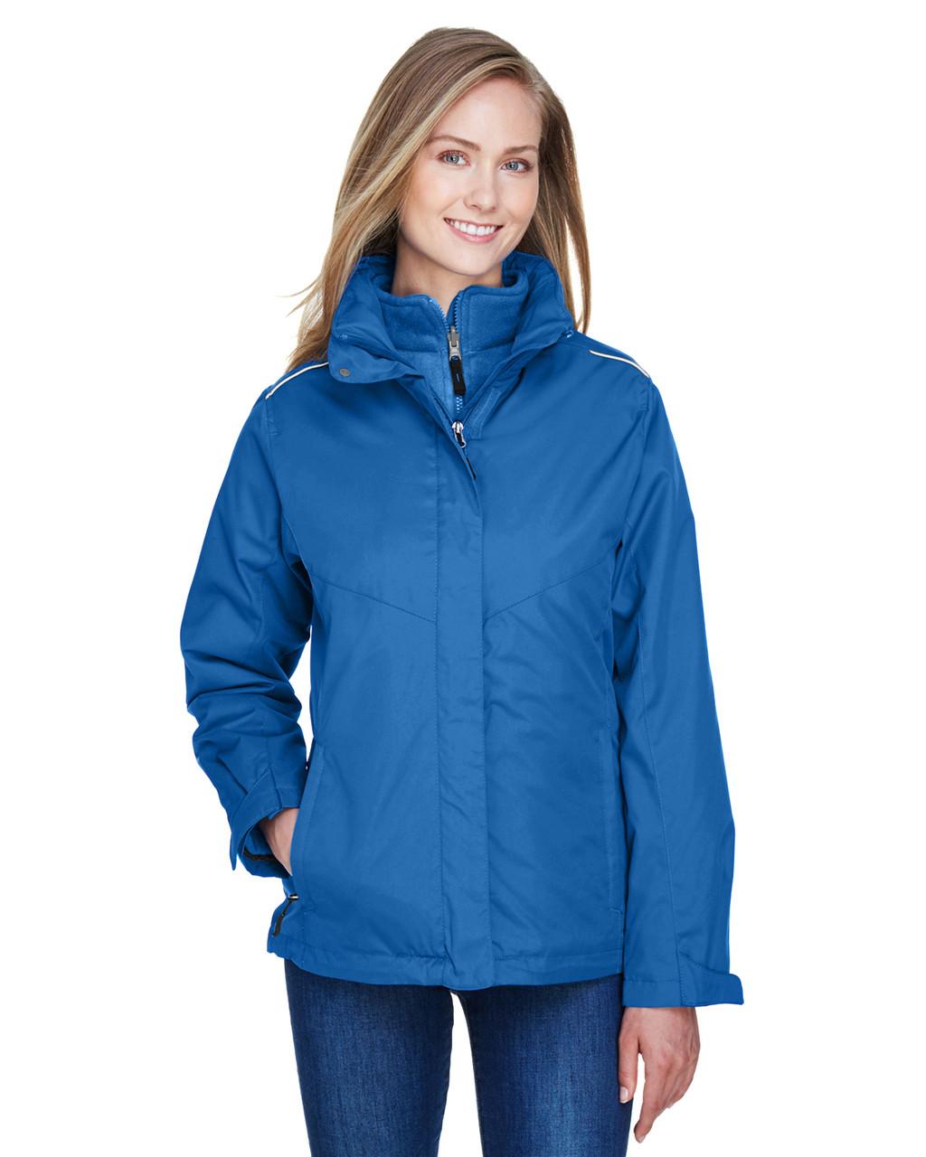0cb359ab6 Ash City - Core 365 78205 Ladies' Region 3-in-1 Jacket with Fleece Liner