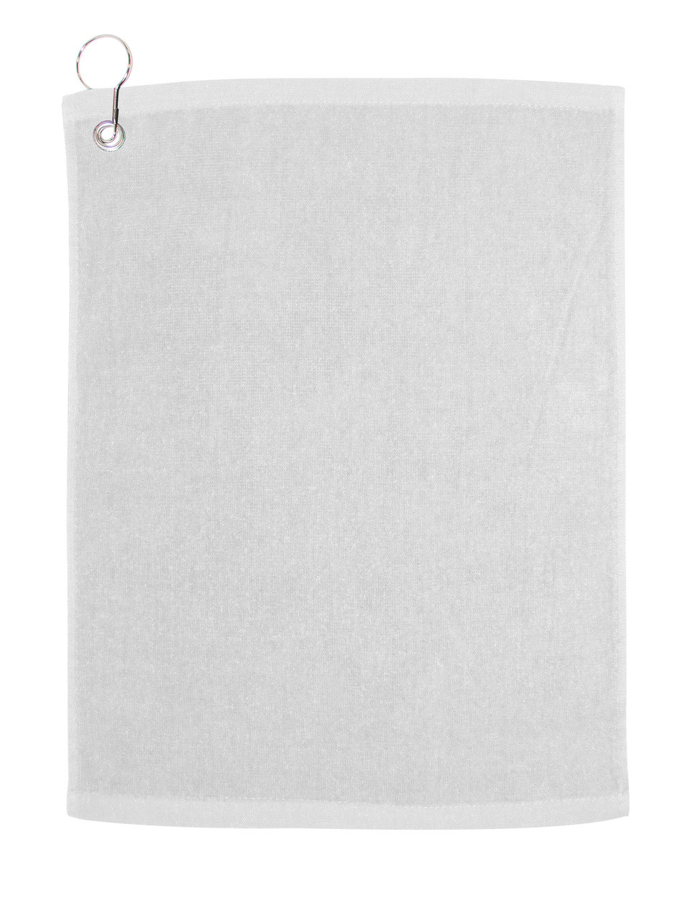 C1518GH Velour Hemmed Towel with Corner Grommet /& Hook Carmel Towel Company