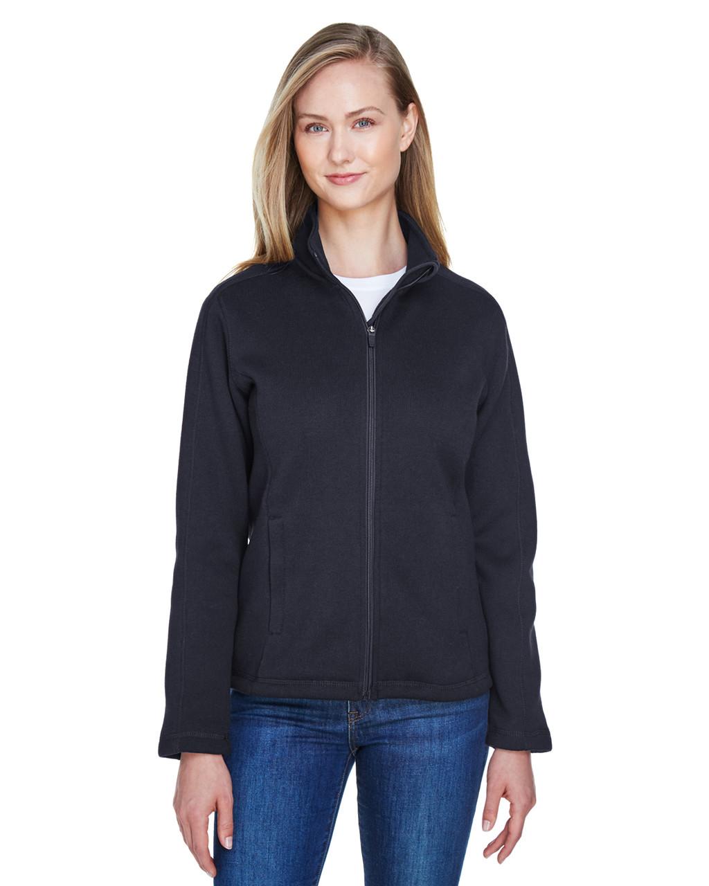 D /& Jones Womens Bristol Full-Zip Sweater Fleece Jacket