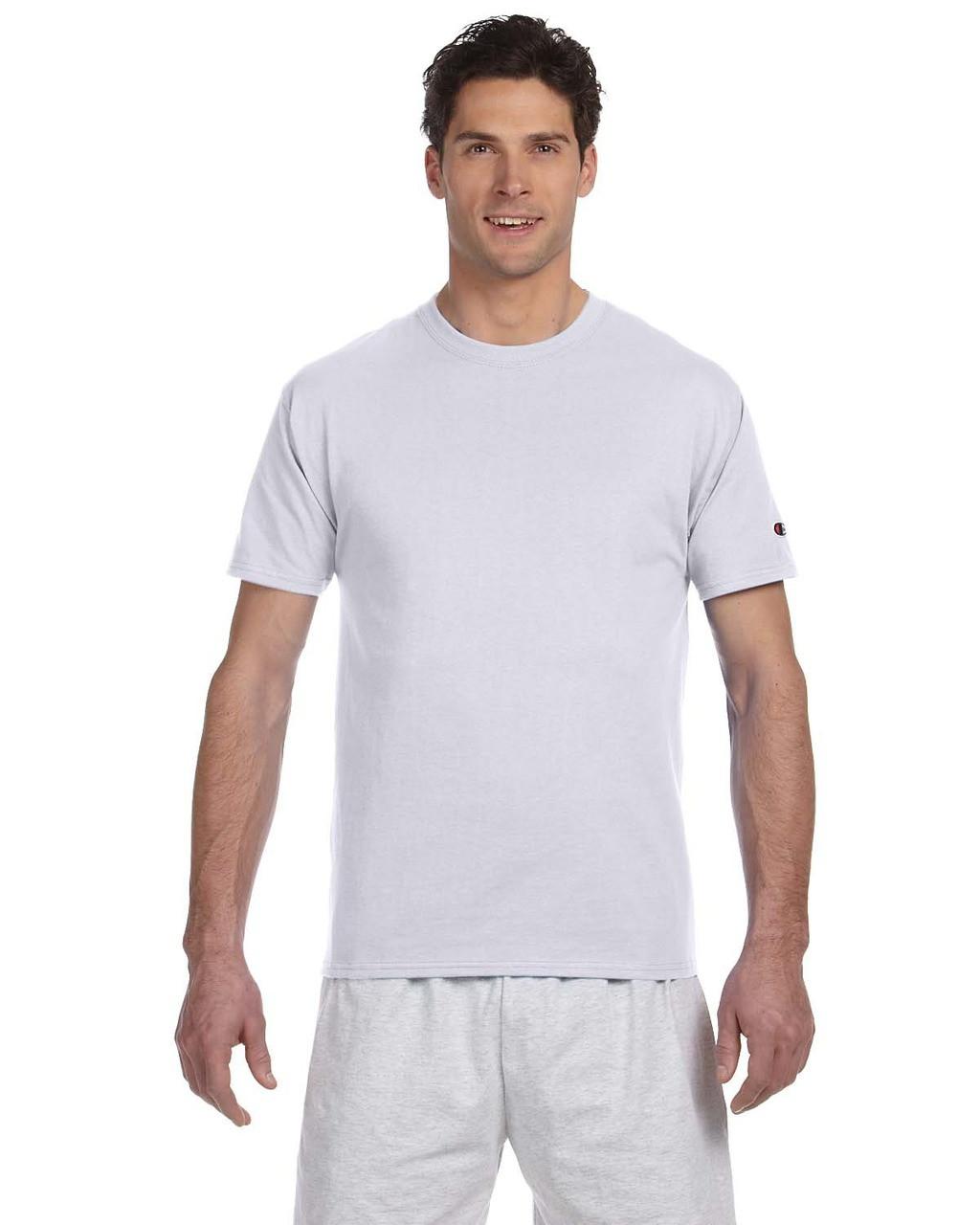 aea6d690 Champion T525C Adult 6 oz. Short-Sleeve T-Shirt - ClothingAuthority.com