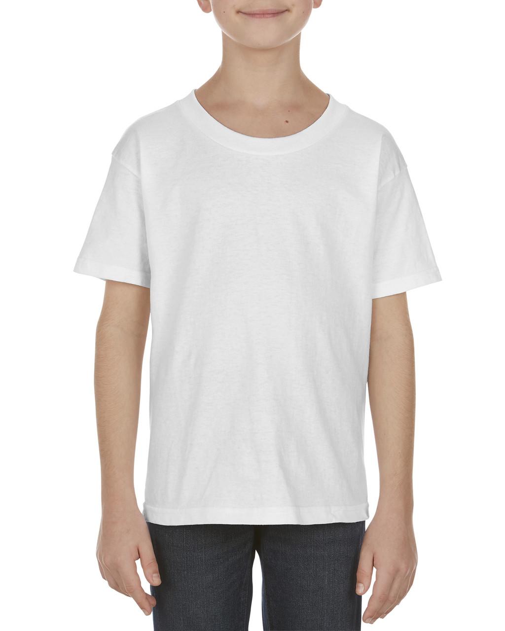 4223196c9164 Alstyle AL3981 Youth 5.1 oz., 100% Soft Spun Cotton T-Shirt -  ClothingAuthority.com