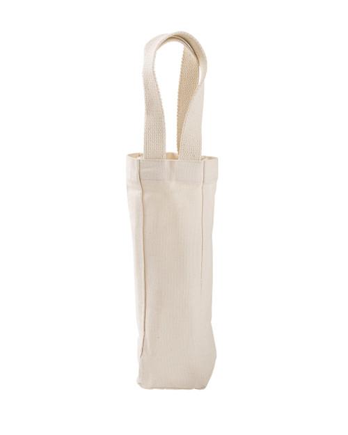 60573f67636 Liberty Bags 1725 Single Bottle Wine Tote - ClothingAuthority.com