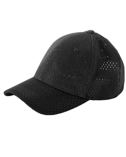 63404ca0e76bac Big Accessories BX017 6-Panel Structured Mesh Baseball Cap