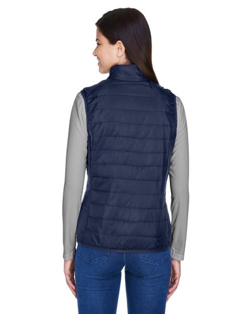 Ashe City Womens Prevail Packable Puffer Sleeveless Vest