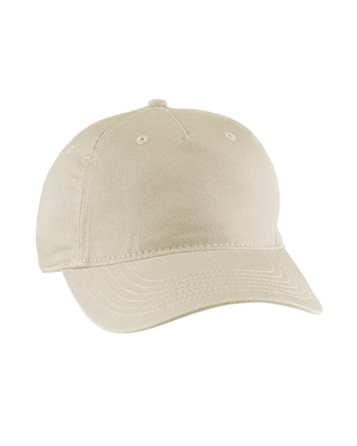 a30a3e8f24d71 econscious EC7087 Twill 5-Panel Unstructured Hat - ClothingAuthority.com