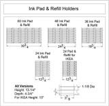 Ink Pad & Refill Holder
