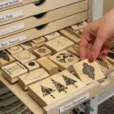 Craft room drawers for IKEA Kallax shelf