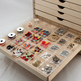 30 Compartment Embellishment Tray for arts and crafts supplies