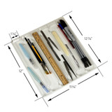 Tool tray for craft tools and art studio organization