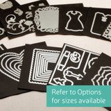 Magnet card craft organization