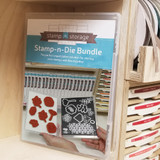 Magnet Card for craft room stamp storage and wafer dies