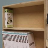 Desk storage for Cricut cartridges