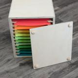 Craft desk storage