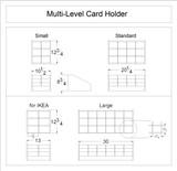 Multi-Level Card Holder