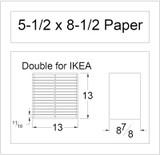 5.5x8.5 Paper Holder