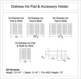 Distress (R) Ink Pad & Accessory Holder