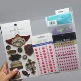 Paper Storage Pockets