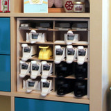 Whale-Tail Punch Holder for IKEA® fits excellently in the IKEA® Kallax