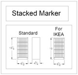 Stacked Marker Holder