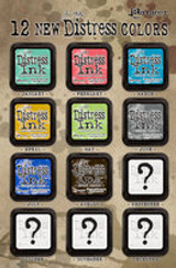 New Distress Ink Colors & Ink Pad Holders