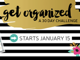 A 30 DAY CHALLENGE TO ORGANIZE YOUR CRAFT SPACE!