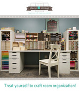Treat yourself to craft room organization!