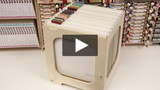 The Stamp-n-Storage Paper Crate