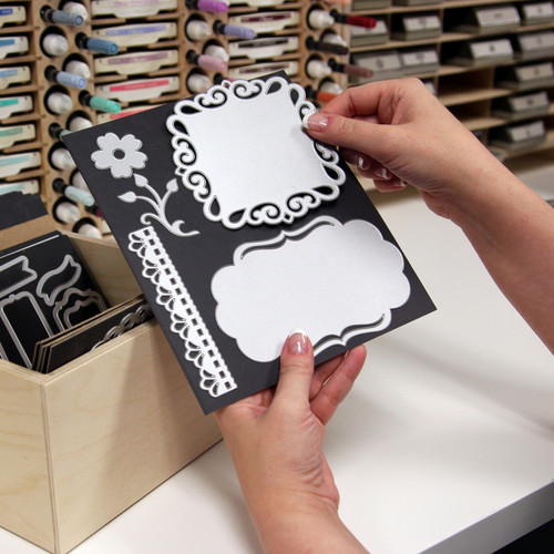 8x7 magnet card die storage for craft room