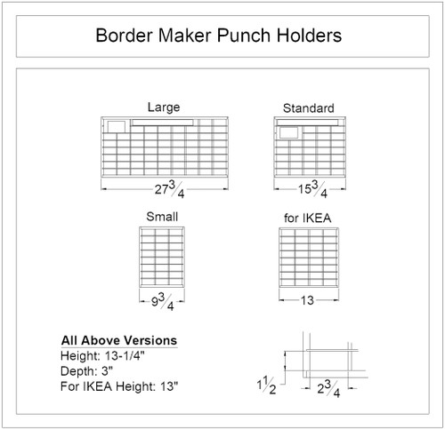 Border Maker Punch Holder