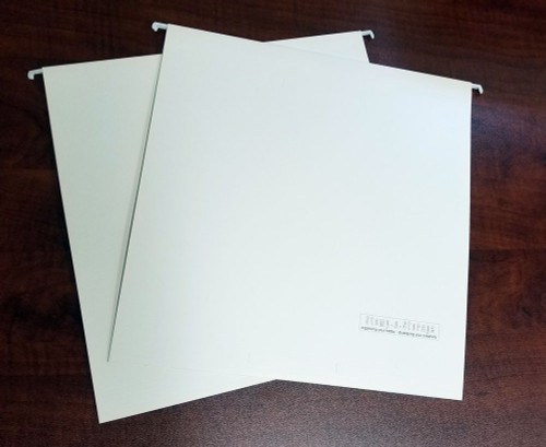 12x12 hanging file folders for craft paper, stencils and stickers