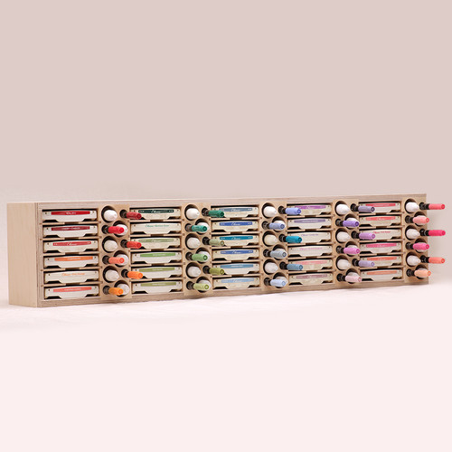 Craft room ink pad storage holders