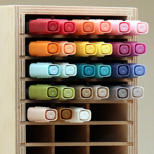 Stampin' Blends Stampin' Up marker craft room storage