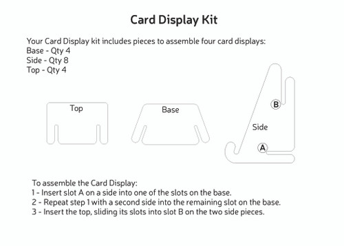 Card Display 4-Pack