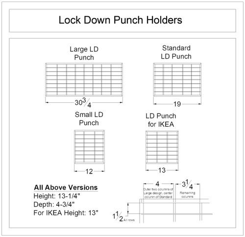 Lock-Down Punch Holder
