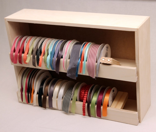 Insert the Magnet Blocks at the end of each row to keep the ribbon from tipping over.
