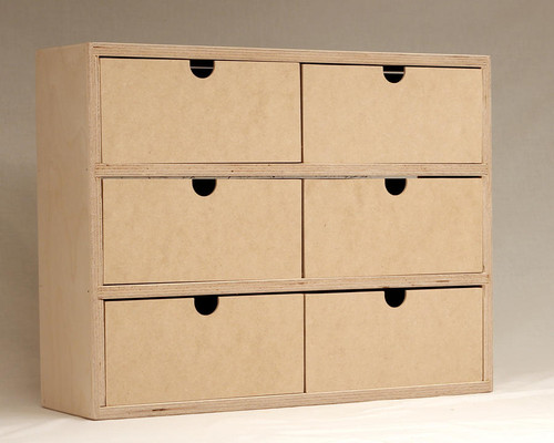 The Drawer Unit is great for storing all of those little crafting tools you have cluttering your craft area. It is a great craft tool storage piece and would fit wonderfully into your crafting area.