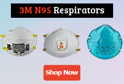 3M N95 Respirators & Surgical Mask