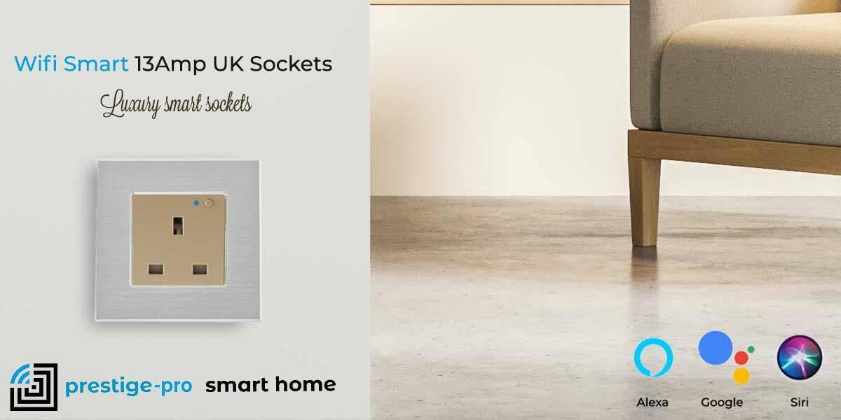 Prestige Pro Wifi Smart 13Amp Sockets