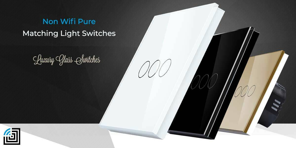 Pure Glass Light Switches