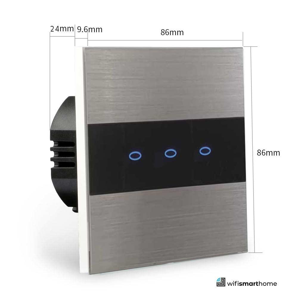 smart switch sizes