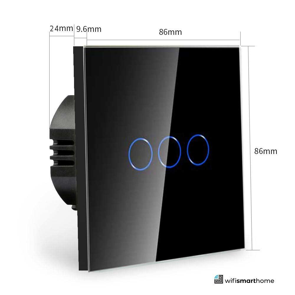 wifi smart switch dimensions