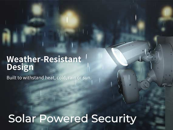 Flood wifi-smart-flood-light-camera-solar-powered
