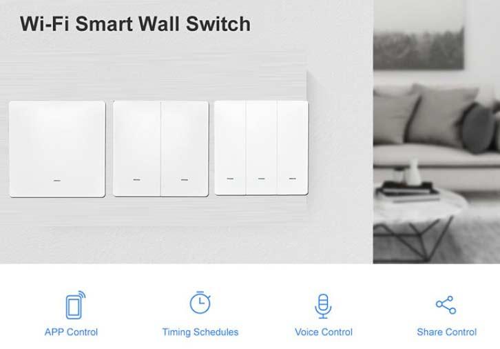 Classic Wifi Smart Switch No Neutral